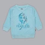 Disney Baby Girl Sweatshirt With Full Pant Set , Sky Blue - SIMGA20913007