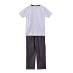 Genius Boys T-shirt With Long Pant Set,Grey-SIMG51188GREY