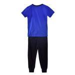 Genius Boys T-shirt With Long Pant Set,Royal Blue/Black-SIMG51190RBLUE