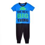 Genius Boys T-shirt With Long Pant Set,Royal Blue/Black-SIMG51194RBLUE