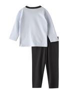 Chiquitos Baby Boys T-shirt With Pyjama Set , Baby Blue/Charcoal - BIGAW20CBJ412