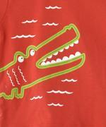 Smart Baby Baby Boy T-shirt With Bermuda Set , Coral/Denim Blue - MCGSS20848