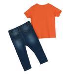 Lily & Jack Baby Boys 2 pcs set ,Orange/Denim,JCGS21R18180