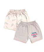 Smart Baby Baby Girl 2 Piece Pack Short,Pink/White-NCGSS21SBPG2C
