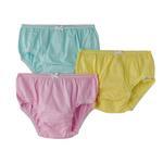 Genius Girls Panty 3 Piece Pack, Multi-BAG2002B5Y