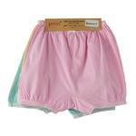 Genius Girls Bloomer Panty 3 Piece Pack, Multi-BAG2003C11Y