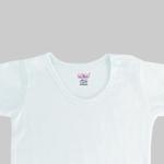Smart Baby Baby Unisex 3pcs Pack Bodysuit , White - NCGSS21SBW011