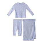 Rock a Bye Baby Baby Girl 2pc Set With Shawl , Pink - JCGS19055