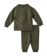 Smart Baby Baby Boys 3pc Set , Olive - MCGAW29368