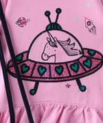 Genius Girls 3pc Set , Pink/Navy - MCGAW209001