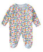 Smart Baby Baby Girls 3-Piece Sleepsuit , Multicolor-TJGVPG02