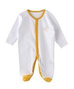 Smart Baby Baby Girls 3-Piece Sleepsuit , Multicolor-TJGVPG03