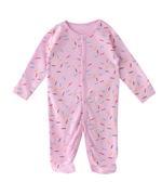 Smart Baby Baby Girls 3-Piece Sleepsuit , Multicolor-TJGVPG04