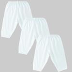 Smart Baby Baby Unisex 3pcs Pack Pyjama , White - NCGSS21SBW010