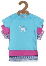 Wonderchild Baby Girl 3-Piece T-Shirt ,Multicolor-WCG00760