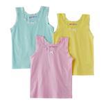 Genius Girls Vest 3 Piece Pack, Multi-BAG2001A7Y