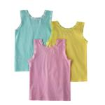 Genius Girls 3 Piece Vest Set , Multi - BAGB20083Y