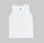 Smart Baby Baby Unisex 3pcs Pack Vest , White - NCGSS21SBW09