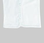 Smart Baby Baby Unisex 3pcs Pack Vest , White - NCGSS21SBW04