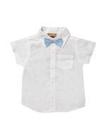 Little Gent Baby Boys 4Pcs Set ,White/Blue, JCGS21R18199