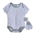 Rock a Bye Baby Baby Unisex 5 Pieces Combo Set, White-JCG18613