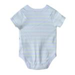 Bonjour Bebe Baby Unisex 5 Pieces Combo Set, White-JCGQ17738