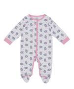 Disney Daisy Duck Baby Girls 5pcs Set,White/Pink-TCGLSS21GP17