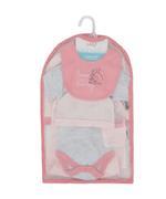 Disney Dumbo Baby Girls 5pcs Set,Pink/Grey-TCGLSS21GP19