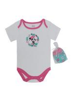 Disney Minnie Mouse Baby Girls 5pcs Set,Aqua/White -TCGLSS21GP11