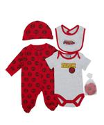 Marvel Spiderman Baby Boys 5pcs Set,Red/Grey-TCGLSS21GP08