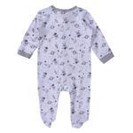 Bonjour Bebe Baby Unisex 5 Pieces Combo Set, Gray/White-JCGQ17808