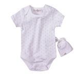 Lily & Jack Baby Unisex 5 Pieces Combo Set, White-JCGQ17048