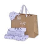 Lily & Jack Baby Unisex 5 Pieces Combo Set, White-JCGQ17055