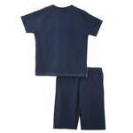 Genius Boys T-shirt With Bermuda Set,Red/Navy - SNGS2034771