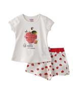 Smart Baby Baby Girls T-shirt With Bermuda Set , Off White - SNGS2035276