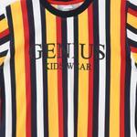 Genius Boys T-shirt With Bermuda Set,Multi/Navy - SNGS2034876