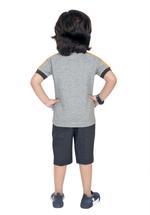 Genius Boys T-shirt with Bermuda Set,Grey,SIMGS21211054