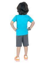 Genius Boys T-shirt with Bermuda Set,Sage Green/Grey-SIMGS21211047