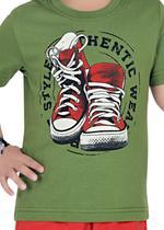 Genius Boys T-shirt with Bermuda Set,Olive/Red-SIMGS21211042
