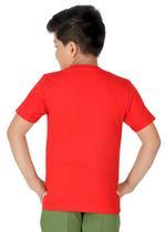 Genius Boys T-shirt with Bermuda Set,Red/Olive-SIMGS21211062