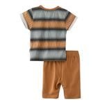 Genius Boys T-shirt With Bermuda Set,Biscuit - SNGS2034801