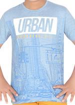 Genius Boys T-shirt with Bermuda Set,Sky Blue/ Gold-SIMGS21211066
