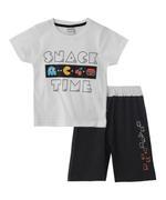 Genius Boys T-shirt With Bermuda Set , White/Black - SNGS2034833