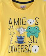 Smart Baby Baby Boys T-Shirt With Bermuda Set,Yellow/Navy -SNGSS2137672