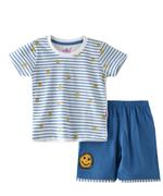 Smart Baby Baby Boys T-Shirt With Bermuda Set,White/Air Force Blue -SNGSS2137673