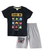 Genius Boys T-shirt With Bermuda Set ,Navy/Grey Millanch-SNGSS2137110