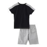 Genius Boys T-shirt With Bermuda Set,Orange/Melange,SNGS2034799