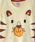 Smart Baby Baby Boys T-Shirt With Bermuda Set, Cream/Rust - SNGSS2137669