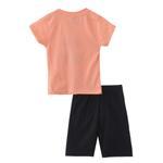 Genius Boys T-shirt With Bermuda Set,Orange/Black,SNGS2034756