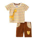 Smart Baby Baby Boy T-Shirt With Bermuda Set, Mustard - SNGS2034976